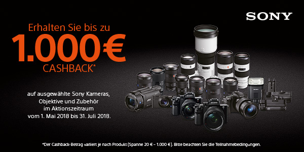 Sony Digital Imaging Cashback