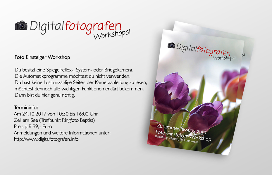 1. Fotoworkshop in Zell am See